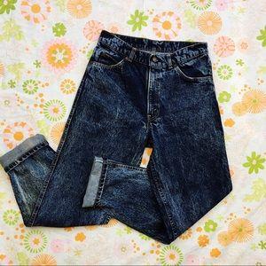[VTG] Levi's High Waisted Acid Wash Jeans
